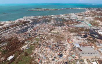 Ολοκληρωτική καταστροφή στις Μπαχάμες από τον τυφώνα Ντόριαν