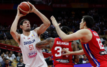Μουντομπάσκετ 2019: Οι Σέρβοι έκαναν «πάρτι» με το Πουέρτο Ρίκο