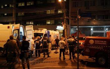 Τουλάχιστον ένας νεκρός σε πυρκαγιά σε νοσοκομείο στη Βραζιλία