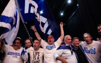 Εκλογική ισοπαλία στο Ισραήλ μεταξύ Νετανιάχου και Γκαντς