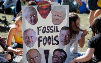 Μεγάλη Βρετανία: Χιλιάδες μαθητές στις διαδηλώσεις για την κλιματική αλλαγή