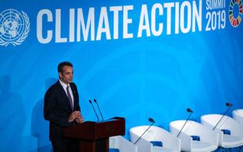 Κυριάκος Μητσοτάκης: Προανήγγειλε διεθνή σύσκεψη για το κλίμα στην Αθήνα