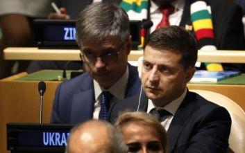 «Ουδείς με πίεσε» λέει ο Ουκρανός πρόεδρος Ζελένσκι