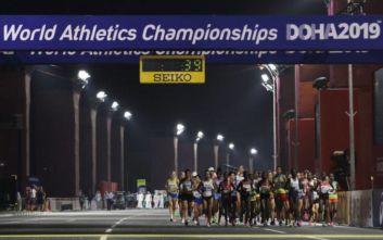 Παγκόσμιο στίβου στη Ντόχα: 29η στον Μαραθώνιο η Πριβιλέτζο