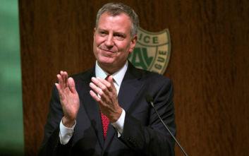 Ο δήμαρχος της Νέας Υόρκης δεν θα βρεθεί αντιμέτωπος με τον Τραμπ στις εκλογές