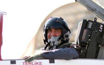 Διαψεύδει η ελληνική πλευρά την πτήση Ακάρ με μαχητικό πάνω από το Αιγαίο