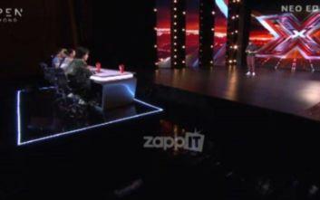 Η εμφάνιση διαγωνιζόμενου στο X Factor που συγκίνησε κοινό και κριτές