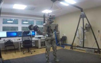Στη «σύνταξη» βγαίνει το πρώτο ρωσικό ανθρωποειδές ρομπότ που ταξίδεψε στο διάστημα