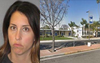 Ψυχολόγος γυμνασίου έκανε σεξ με μαθητή μέσα στην τάξη και συνελήφθη