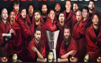 Καλάθης και Πρίντεζης με στιλ... Casa de Papel έτοιμοι να «κλέψουν» την Euroleague