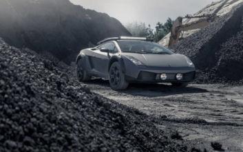H μία και μοναδική off-road Gallardo πωλείται έναντι 115.000 ευρώ