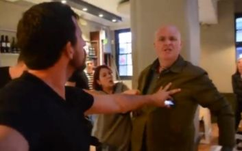 Πελάτης πιτσαρίας χτυπάει και βρίζει βίγκαν ακτιβίστρια