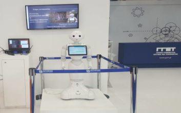 84η ΔΕΘ: Ενα ρομποτάκι απαντάει σε όλες τις ερωτήσεις σας