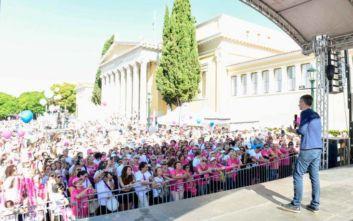 Ο 33ος Γύρος της Αθήνας ένωσε τις δυνάμεις του με το 11ο Greece Race for the Cure(R)