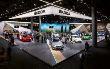 Αιχμή η ηλεκτροκίνηση για τη Skoda στη Φρανκφούρτη