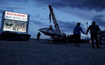 Κυνηγοί εξωγήινων και λάτρεις των UFO «κατέλαβαν» την Area 51 στις ΗΠΑ