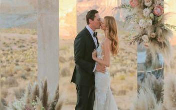 Ο DJ Tiesto παντρεύτηκε την εκλεκτή της καρδιάς του