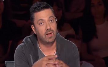 X-Factor: Το σχόλιο του Θεοφάνους «πάγωσε» το συγκρότημα που βρισκόταν στη σκηνή