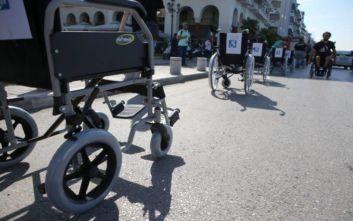 Δράση κατά της στάθμευσης σε ράμπες αναπήρων στη Θεσσαλονίκη