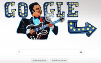 B.B. King: Η Google τιμάει τον θρύλο των μπλουζ με το σημερινό της Doodle