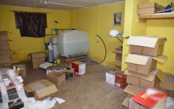 Εντοπίστηκε εργαστήριο που έφτιαχνε ποτά «μπόμπες» στη Θεσσαλονίκη