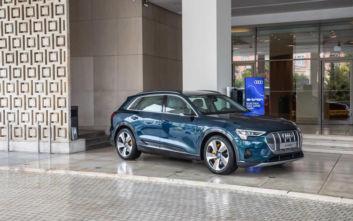 Το Audi e-tron έλαβε μέρος σε... συνέδριο