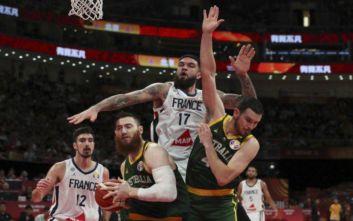 Γαλλία - Αυστραλία 67-59: Χάλκινο ξανά οι «τρικολόρ»