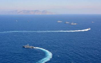Στην Κρήτη καταπλέει το αμερικανικό αεροπλανοφόρο Αϊζενχάουερ - Θα συνοδεύεται από 12 πολεμικά πλοία των ΗΠΑ