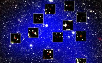 Οι 12 γαλαξίες που βαφτίστηκαν «Η αυλή της Βασίλισσας»