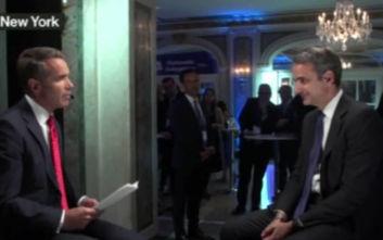 Κυριάκος Μητσοτάκης στο Bloomberg: Θέλω κάνω την Ελλάδα το success story της ευρωζώνης