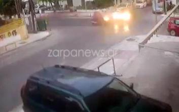 Σοκαριστικό τροχαίο στα Χανιά: Συνελήφθη ο δράστης που χτύπησε μηχανάκι και εξαφανίστηκε
