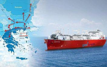 Ολοκληρώθηκε με μεγάλη επιτυχία η δεσμευτική φάση του market test για τον πλωτό τερματικό σταθμό LNG Αλεξανδρούπολης