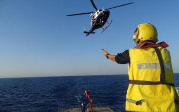 Κοινή ναυτική επιχείρηση Ελλάδας και Κύπρου πραγματοποιήθηκε την Τετάρτη