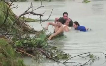 Δραματικές εικόνες από τις Μπαχάμες, φονικός και σαρωτικός ο τυφώνας Ντόριαν