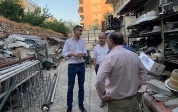 Δημοτική Αστυνομία και Διεύθυνση Ηλεκτρολογικού επισκέφθηκε σήμερα ο Κώστας Μπακογιάννης