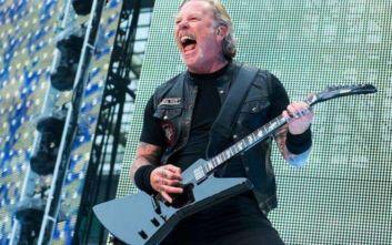 Metallica: Σε κέντρο αποτοξίνωσης ο James Hetfield