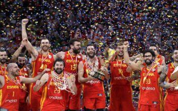 Eικόνες από τη στέψη της Ισπανίας ως Παγκόσμιας Πρωταθλήτριας