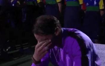 Το κλάμα του Ναδάλ μετά την κατάκτηση του US Open