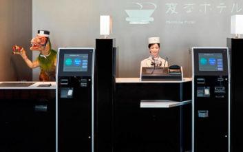 Ρομπότ στη θέση υπαλλήλων χρησιμοποιεί ξενοδοχείο στην Ιαπωνία