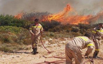 Μεγάλη φωτιά τώρα σε εργοστάσιο στον Ασπρόπυργο