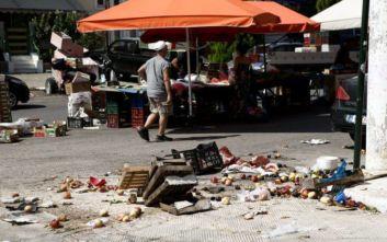 Εικόνες από τη λαϊκή αγορά στην Ηλιούπολη που έγινε το τροχαίο