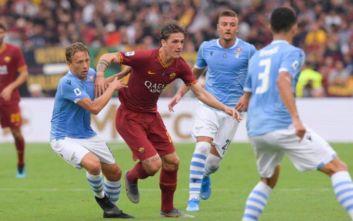 Ισοπαλία της Λάτσιο με τη Ρόμα, με 1-1