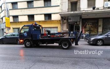 Θεσσαλονίκη: «Σκούπα» στη Δωδεκανήσου για παράνομα παρκαρισμένα