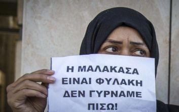 Έκλεισε ο παράδρομος της εθνικής οδού μεταξύ των κόμβων Μαλακάσας και Αυλώνα
