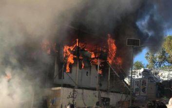 Μυτιλήνη: Δύο νεκροί ο απολογισμός από την πυρκαγιά στον καταυλισμό της Μόριας