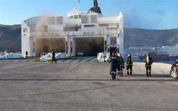 Από φορτηγό ξεκίνησε η πυρκαγιά στο πλοίο στην Ηγουμενίτσα