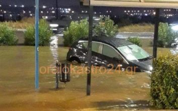Kαταιγίδα σάρωσε τη δυτική πλευρά της Θεσσαλονίκης