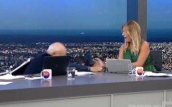 Γιώργος Παπαδάκης: Πώς σχολίασε την πτώση του από την καρέκλα