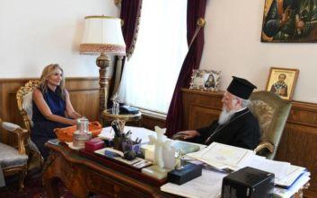 H Μαρέβα Γκραμπόφσκι στο Οικουμενικό Πατριαρχείο
