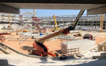 ΑΕΚ: Αυτή θα είναι η θέα του νέου γηπέδου από την παλιά Σκεπαστή